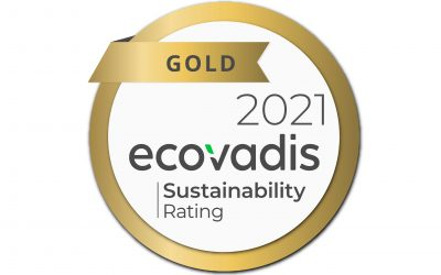 Ecovadis Gold Award for Sustainability